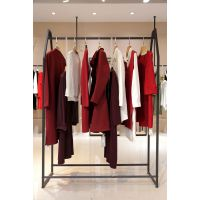 迪笛欧女装品牌折扣排行榜 广州品牌女装折扣加盟尾货棕色半身裙