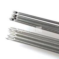 加工气腹针 穿刺针套管 医用不锈钢毛细管磨斜尖精密切割
