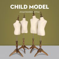 儿童包布半身橱窗展示 童装模特女服装店小孩模特架模特道具