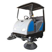 润洁电动扫地车 驾驶式扫地机RJ-S180P小区车库道路清扫车