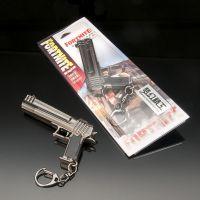 堡垒之夜FORTNITE周边 加农手枪钥匙扣挂件 猎枪全金属儿童玩具