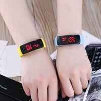 广告促销商场节日活动赠品LED发光学生手表 运动休闲硅胶电子手表