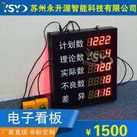 定制车间生产管理看板自动化设备通讯设备计数屏LED看板