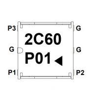 贴片环形器 CL05AL2600AAE CL05AR2600AAE