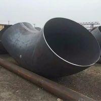 大口径对焊碳钢弯头 保探伤焊接弯头厂家 定做厚壁同径三通销售