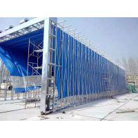 浙江定制各种型号伸缩移动喷漆房环保设备厂家