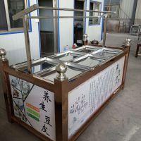 惠民豆油皮机 酒店饭店现做现卖腐竹油皮机