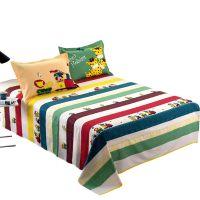 全棉床单单件加厚纯棉双人1.8米学生单人宿舍1.5m棉布被单