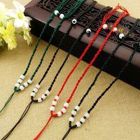 8珠项链   手工项链绳翡翠珠宝挂绳  玉坠线绳饰品配件 厂家直销