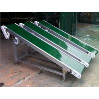 绿色光滑带运输机多用途 斜坡式输送机株洲