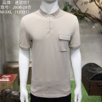 2019夏季新款靓仔潮牌T恤小翻领青年男装宽松短袖polo衫