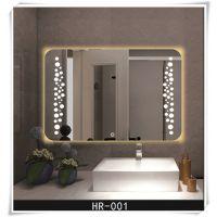 跨境供应 工厂直销500*700单灯光卫浴镜子 发光led智能防雾镜