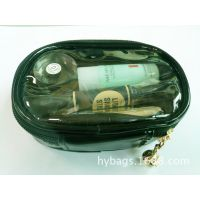 光胶料化妆包 化妆日用品收纳包 透明PVC化妆包 深圳工厂实拍款