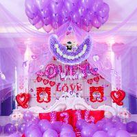 JSH婚礼新房布置婚房布置用品创意卧室婚房装饰结婚墙浪漫拉花纱