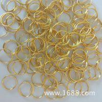 厂家专业生产金属钥匙圈 钥匙环 铁圈 钢丝圈 不锈钢圈可加工定制