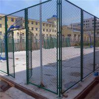 篮球场浸塑防护网 网球场围栏网 训练场防撞栏