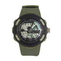 速卖通热销SPIKE新款野外运动防水双机芯显示手表