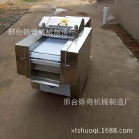 黄焖鸡米饭剁鸡块机 全自动案板式送料剁肉块机 铄奇厂家直营