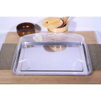 长方形亚克力pc保鲜盖菜盖透明菜罩点心餐桌罩托盘盖子蛋糕盖碟盖
