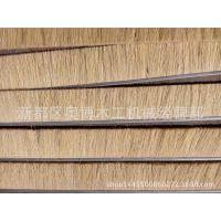 厂家直销 抛光打磨砂光专用剑麻砂布条 毛刷条 异型砂光机配件