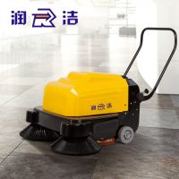 扫地机 润洁手推电动扫地机车间工厂物业扫地车
