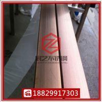 厂家直销304玫瑰金不锈钢方管 黑钛金不锈钢矩形管 黄钛金不锈钢圆管