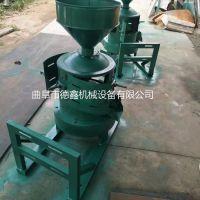电动小型砂轮式碾米机 多功能五谷杂粮脱皮机 小麦碾米机