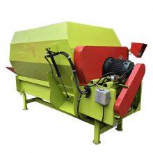 不会破坏物料的搅拌机 带盖草粉不飞尘的搅拌机 润丰机械