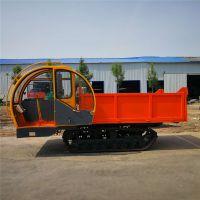 工程用履带随车吊 自卸农用履带拖拉机 电启动履带车价格图