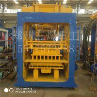 全自动10-15免烧制砖机 空心砌块砖机 大型植草护坡砖机