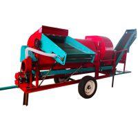 奥华4h-800新型干,湿,半干湿,三用全自动自走式花生摘果去秧机