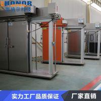 供应优质不锈钢双扇平移门聚氨酯冷库保温门厂家奥纳尔