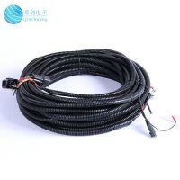 琴创电子专业生产定制汽车线束DC接口组合线PVC绝缘阻燃连接线