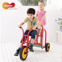台湾原装进口WEPLAY感统训练器材儿童欢乐兜风车三轮脚踏车自行车