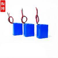 18650锂电池3串11.1V 可充电锂电池2400mAh定制工业锂电