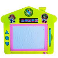儿童画板 磁性写字板 婴幼儿益智科教玩具涂鸦板超市实体店热卖