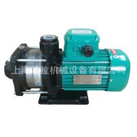 德国威乐水泵MHIL205DM卧式多级离心泵WILO不阻塞热水循环泵现货