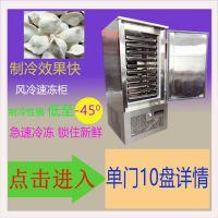 广东速冻柜厂家直销零下45度饺子速冻柜 急冻柜
