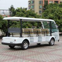 安步优品ABLQY113B白色豪华11座旅游观光车景区电动车图片报价
