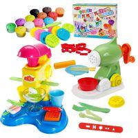 儿童橡皮泥无毒3d彩泥模具工具套装手工制作冰淇淋雪糕机女孩玩具
