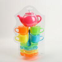厂家直销 茶壶类厨房玩具儿童过家家厨房套装厨房仿真类玩具批发