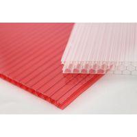裕华阳光板四层蜂窝含UV涂层及防雾滴pc阳光板温室专用