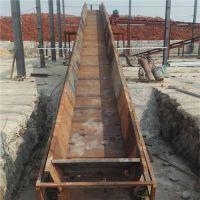 链板输送机公司新品 铁件运输链板输送机价格品牌厂家天水