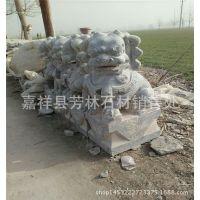 厂家供应石狮子 石雕动物 花岗岩石狮子价格 来图定制 青石雕刻