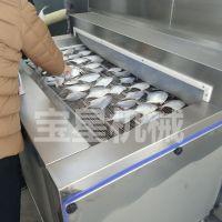 厂家直销鲳鱼速冻机视频 水产品连续速冻设备 宝尔特机械