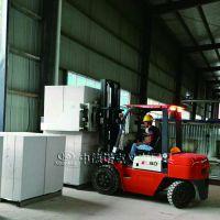 建筑材料搬运设备中德诺克自动化搬运设备叉车搬砖夹可装卸货车运送砖块到升降台