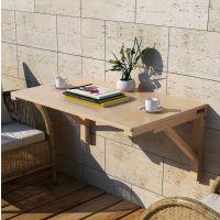 实木折叠桌餐壁挂桌靠墙电脑桌学习桌书桌墙壁桌可折叠