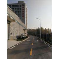 专业承接道路划线、停车场划线及安全智能设备