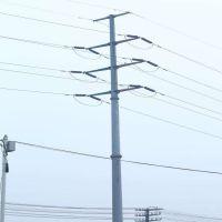 福州市益瑞钢杆厂家供应35kv电力钢杆 终端钢管杆 直线钢杆 钢桩基础 基业