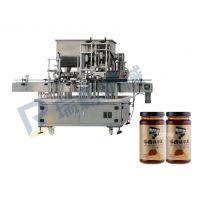 瑞霸蛋黄酱灌装旋盖一体机 全自动酱料灌装机价格